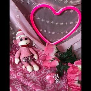 Accessories - 🎀💗PINK SALE-SCARF & HEART PIN💗🎀